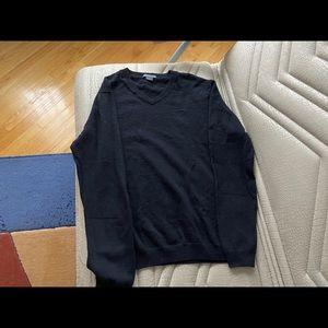 Armani Exchange 100% wool v-neck sweater